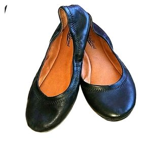 Lucky Brand Leather Emmie Flats